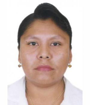 Candidato MARIA ALEJANDRINA PASAPERA SAAVEDRA
