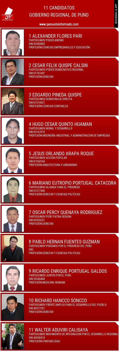 Gobierno regional de PUNO
