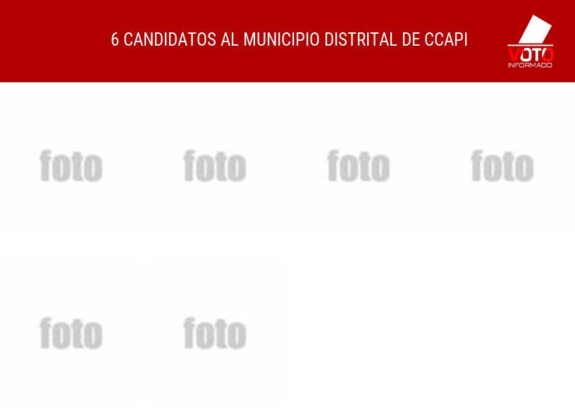 Municipio distrital de CCAPI