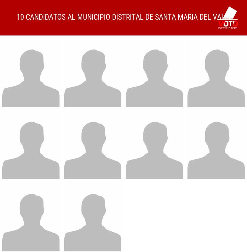 Municipio distrital de SANTA MARIA DEL VALLE