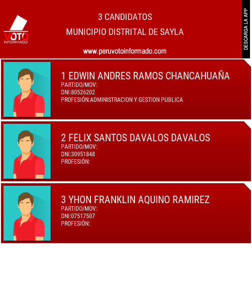 Municipio distrital de SAYLA