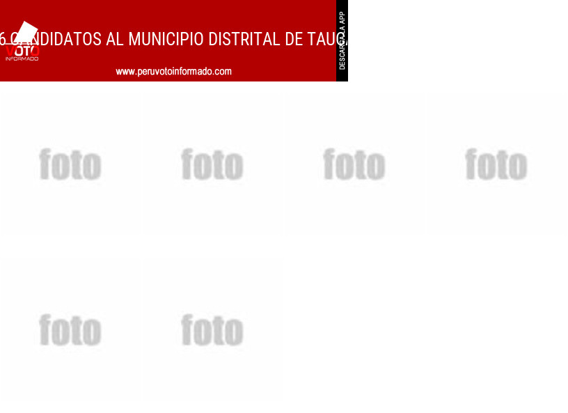 Municipio distrital de TAUCA