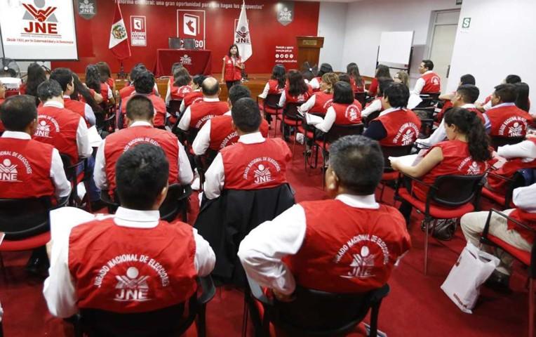 JNE instalará 60 jurados especiales para elecciones congresales este 2020