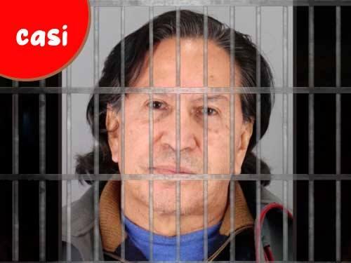 Alejandro Toledo detenido en Estados Unidos.