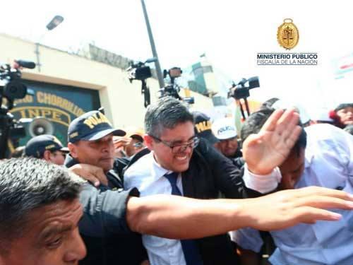 Investigaran agresión contra fiscal José Domingo Pérez