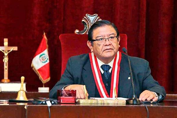 Presidente del JNE pide a partidos y candidatos respetar medidas contra el COVID-19