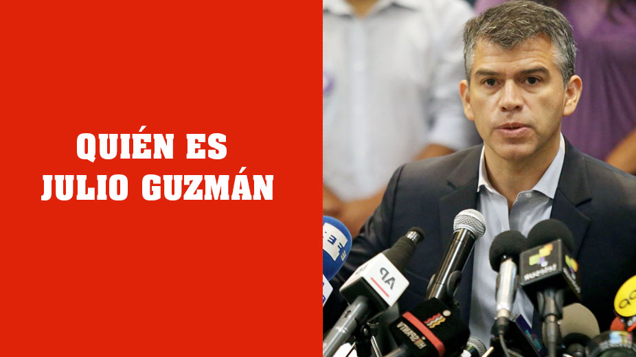 ¿Quién es Julio Guzmán? el Líder del Partido Morado