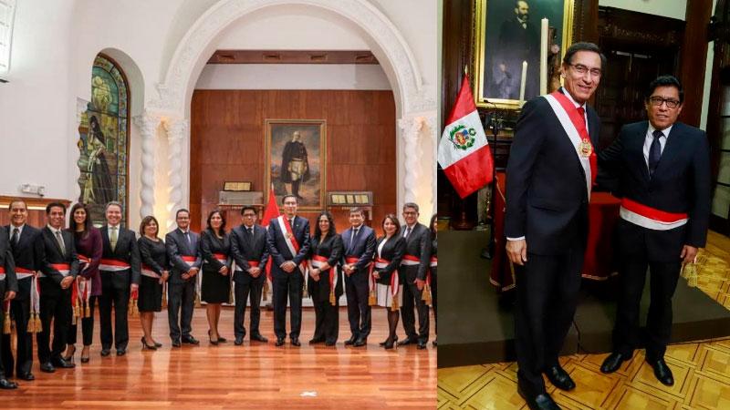 19 ministros que forman el nuevo Gabinete Ministerial