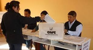 Consulta si eres miembro de mesa y dónde votarás