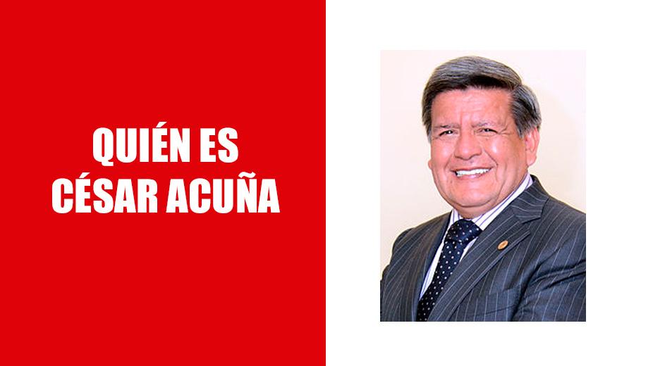 Conociendo a Cesar Acuña; el dueño de APP